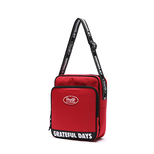 [Unionobjet] Daylife X Unionobjet Cross Bag - Red