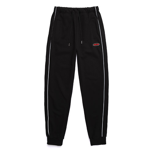 [Unionobject] Union Round Logo Training Pants - Black