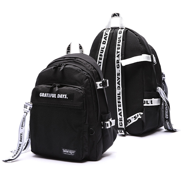 [Unionobjet] 3D Mesh Backpack M03 - White Black
