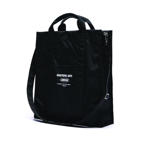 [Unionobjet] Unionobjet Over Size Cross Bag Black