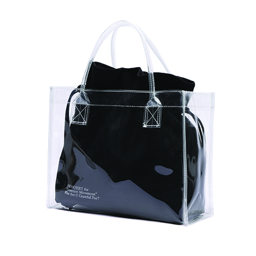 [Unionobjet] Unionobjet Clear Bag - Black