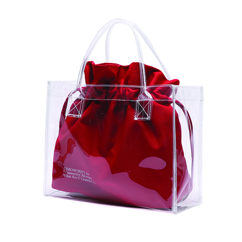 [Unionobjet] Unionobjet Clear Bag - Red