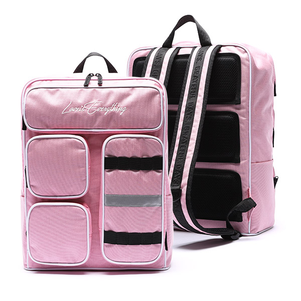 MINIMAL 4POCKET BACKPACK - PINK