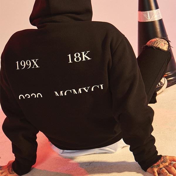 [10%할인][18K] VEILD HOOD - BLACK