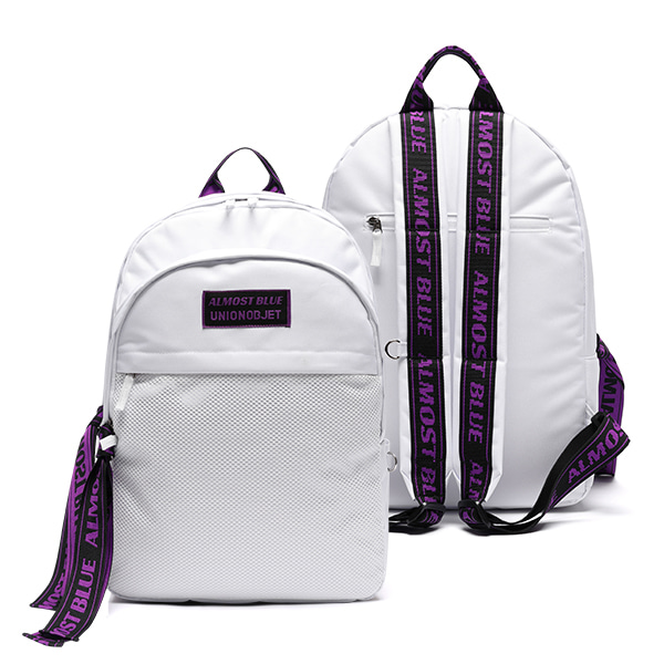 ULTRA VIOLET BACKPACK - WHITE